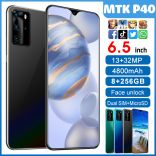 Điện thoại SmartPhone siêu rẻ MTK P40 màn hình giọt nước 6.5 inch Ram 8G bộ nhớ 256G pin 3800mAh chạy Android 6.0