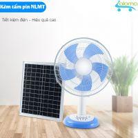 Quạt sạc tích điện năng lượng mặt trời Jatek BN-866 kèm điều khiển từ xa pin 8 tiếng