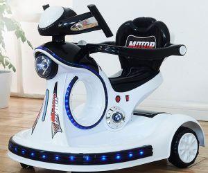 Xe điện tự lái có điều khiển từ xa cho bé 1-10 tuổi Udary BT