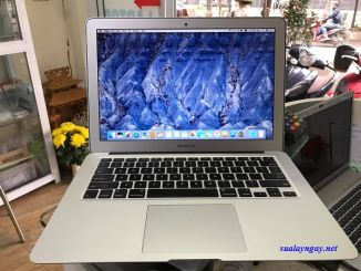 Macbook air 13 inch 2014 (Core i5/ ram 4G/ssd128g/ sạc)