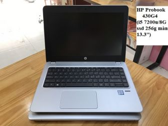 Laptop HP Probook 430G4  i5 7200u/ram 8GB/ssd 256G/13''FHD/HD Graphics 620