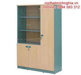 SV1960-3B-tủ tài liệu gỗ hòa phát