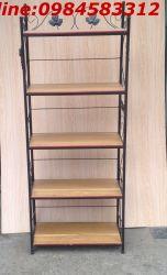 kệ sách 5 tầng 50 KS5T50 sắt mỹ nghệ