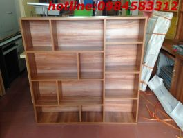 giá sách treo 120 GST1200 màu vân xoan cao 120cm