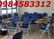 ghế kèm tay viết học sinh