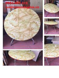 bàn ăn chân gấp 80cm