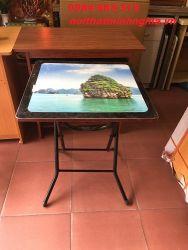 bàn cà phê chân gấp vuông 55cm
