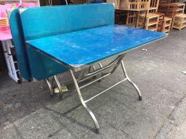 bàn ăn inox 120x70x75