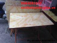 bàn ăn chân gâp 100x60x75