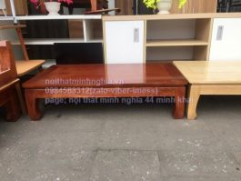 bàn osin 120x60 gỗ xoan