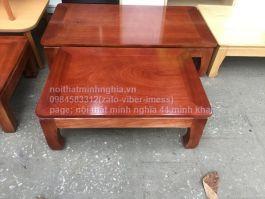 bàn osin 80x55 gỗ xoan