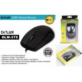 Chuột quang Delux M375, cổng usb