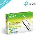 Bộ chuyển đổi USB không dây thu sóng WiFi TL-WN722N 150Mbps