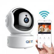 Camera WiFi / IP QCT Smart 1080P 2MP, quay 360 độ, đàm thoại 2 chiều