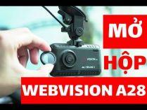 Camera hành trình 4K Wifi | Webvision A28 cảnh báo giới hạn tốc độ