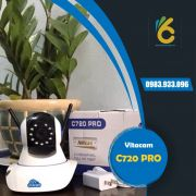 Camera WiFi Vitacam C720 Pro | 2.0 MPX - FULL HD 1080P - Chuẩn nén H.265X
