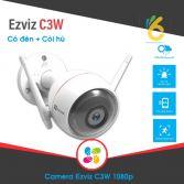 Camera 2M IP Wifi Ngoài Trời Ezvis C3W có đèn, có còi báo động