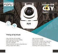 CAMERA IP WIFI thông minh CLOUD EYE-C3Y-2.0MP