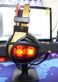Tai nghe Gaming Iron Shield M-09 ( Giả lập 7.1 , có 4 loa riêng biệt )