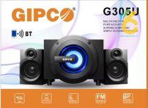Loa Vi Tính 2.1 Gipco G305U kết nối bluetooth, USB, TF Card