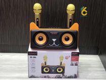 Loa Hát Karaoke Bluetooth SD-305 kèm 2 Micro