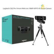 Webcam Logitech Full HD C922 Pro Stream Chính Hãng