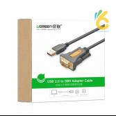 Cáp chuyển đổi USB sang RS232 - DB9 chính hãng Ugreen UG-20211