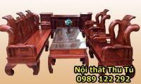 Bàn Ghế Phòng Khách được làm bằng gỗ hương vân