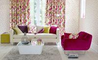Bàn Ghế Phòng Khách tràn ngập sắc xuân với nội thất in hoa