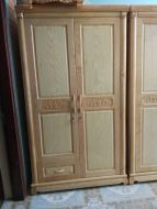 Tủ quần áo 2 buồng gỗ sồi nga