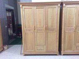 Tủ  quần áo 3 buồng gỗ sồi nga