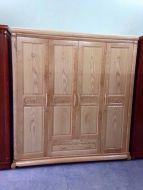 Tủ quần áo 4 buồng gỗ sồi nga