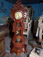 Đồng hồ cây đàn gỗ hương vân