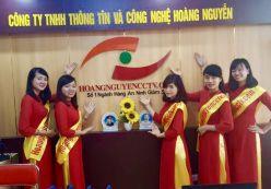 Văn phòng làm việc công ty hoàng Nguyễn