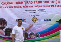 Ngày 07/10 Hoangnguyencctv.com tham gia hội Tấm lòng vàng cCTV đi từ thiện tại trường Mầm non Thượng Phùng- Mèo Vạc - Hà Giang