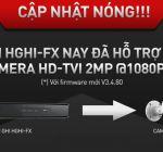 Đầu ghi hình HIKVISION Turbo HD 1MP nay đã hỗ trợ camera 2MP