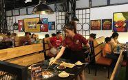 chuyên thiết kế, thi công lắp đặt hệ thống bếp nướng than không khói dành cho nhà hàng, khách sạn