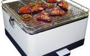 Với bếp nướng than hoa không khói PD17-D115 không còn nỗi lo quạt tay khi nướng thịt