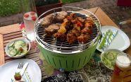 Những quán nướng bình dân dùng bếp nướng than hoa ngon rẻ nhất Hà Nội