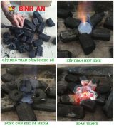 Hướng dẫn những cách nhóm than không khói đơn gian