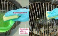 Hướng dẫn cách làm sạch vỉ nướng than đơn giản nhất