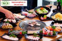 Bếp nướng than không khói Hàn Quốc tại Bình An