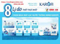 Giá máy lọc nước Karofi?