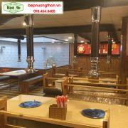 Hoàn thành thiết kế nhà hàng lẩu nướng BBQ tại Hà Nội