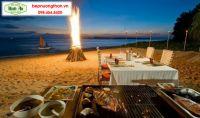 Tiệc nướng BBQ trên bãi biển