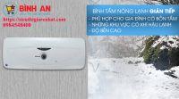 5 Lý do bạn nên mua bình nóng lạnh Ariston