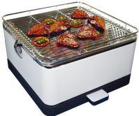 bếp nướng than hoa không khói hình vuông