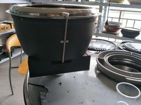 bếp lẩu nướng than không khói hút đáy