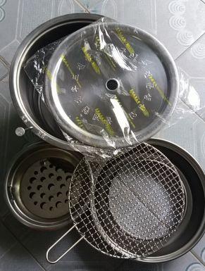 bếp nướng than không khói hàn quốc hút trên