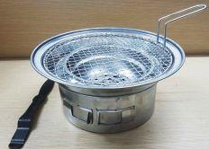 bếp nướng than âm bàn hút dương
